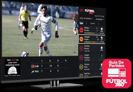 Guía de partidos - Fútbol 360 - DALTON, GA - SENAL SATELITE INC - Distribuidor autorizado de DISH