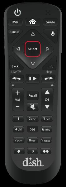 Control remoto de voz - DALTON, GA - SENAL SATELITE INC - Distribuidor autorizado de DISH