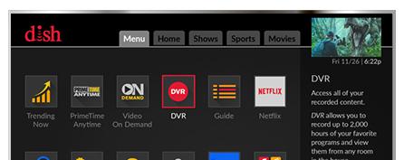 Vea television con DISH - SENAL SATELITE INC en DALTON, GA - Distribuidor autorizado de DISH